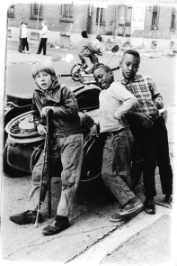 Kids at 13th & South, 1969