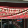 "Fante's banner: ""Celebrating Our First 100 Years"". Image provided by Historical Society of Pennsylvania"