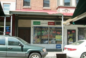 Lupita's Grocery Store storefront. Image provided by Historical Society of Pennsylvania