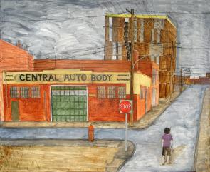 Central Auto Body. Image provided by Jennifer Baker