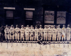 Esposito Beverages sponsored a neighborhood baseball team