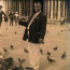 James Esposito poses with some avian friends