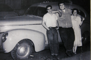 John Cardullo's children: Anthony, Peter and Mary Cardullo