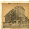 Addition to St. Mary's Hospital. Image provided by Historical Society of Pennsylvania