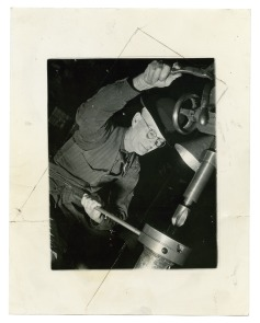 [Cramp's Shipyard employee]. Image provided by Historical Society of Pennsylvania