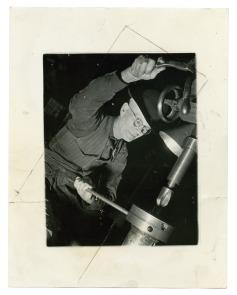 [Cramp's Shipyard employee]. Image provided by Historical Society of Pennsylvania