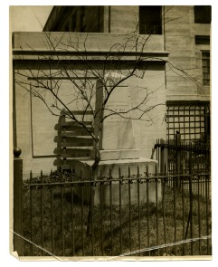 Penn Treaty Monument, Kensington. Image provided by Historical Society of Pennsylvania