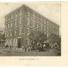 St. Mary's Hospital, 1866. Image provided by Historical Society of Pennsylvania
