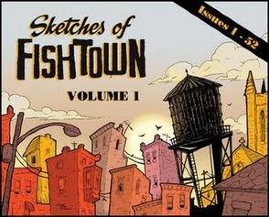 "The Cover of  Jeff Kilpatrick's ""Sketches of Fishtown, Volume 1"""