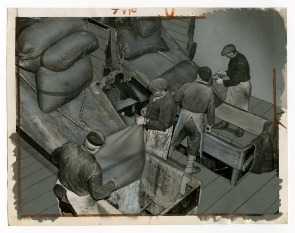 Pennsylvania Sugar Company, Dumping Stools. Image provided by Historical Society of Pennsylvania
