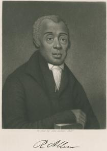Richard Allen. Image provided by Historical Society of Pennsylvania