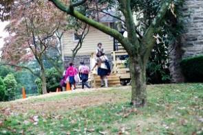 Mt. Airy school children