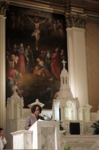 St. Thomas Aquinas Eucharistic Minister Toni Nichelson