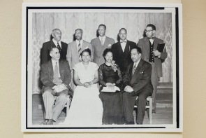 A historic photo from the Black Writers Museum
