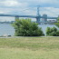 Ben Franklin Bridge as seen from Penn Treaty park
