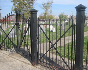 St Peter's Cemetery -- Gates