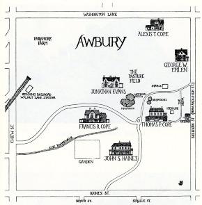 Awbury Map