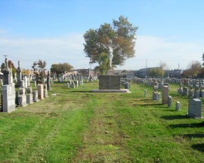 St Peter's Cemetery, a German Catholic Burial Ground
