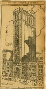 Former Cunningham Building, 1924