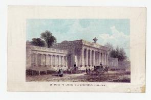 Entrance to Laurel Hill Cemetery, Philadelphia