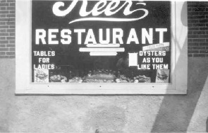 Keer's Restaurant during the 1930s.