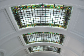 Hyperion Bank — Stained Glass Ceiling