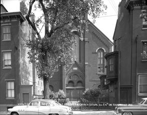 Contract #S-1958 Front of Russian Church. Image provided by City of Philadelphia Department of Records