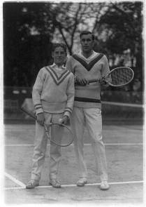 Bill Tilden (right) with Sandy Weiner