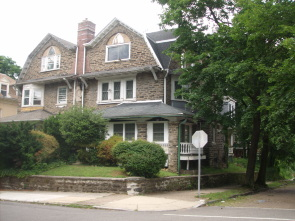 Bill Tilden's second home in his aunt's house