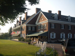 The Germantown Cricket Club clubhouse