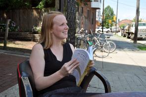 Carrie Hagen, author