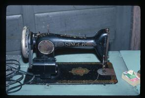 Garden Looms sewing machines. Image provided by Murray Rosenberg & family