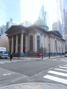 Arch Street Presbyterian Church from the Corner