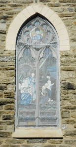 Window of St. Michael's Lutheran Church