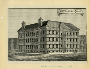 Illustration of the Chester A. Arthur School