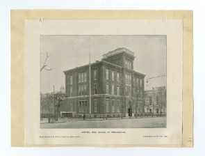 The Second Building of the Central High School of Philadelphia