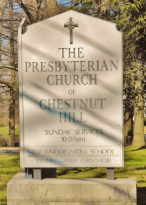 The Church Sign