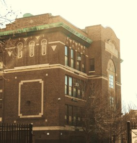 The Rear Facade of the Gen. George A. McCall School