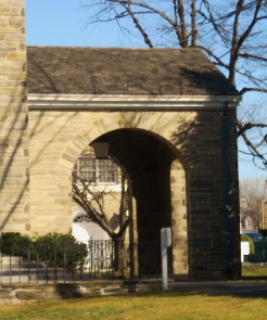 An Archway of the Church