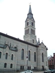 St. Peter the Apostle Roman Catholic Church. Image provided by Historical Society of Pennsylvania