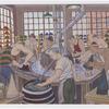 Making Hats, J.B. Stetson Company. Image provided by Historical Society of Pennsylvania