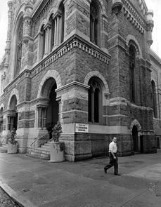 St. Peter the Apostle Roman Catholic Church. Image provided by Temple University Urban Archives