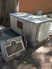 The grave of Benjamin Rush