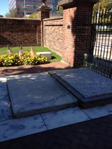 Benjamin and Deborah's graves
