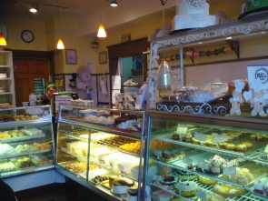 The inside of Bredenbecks Bakery