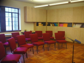 Another view of the Music Library and All Purpose Room at FUMCOG