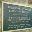 A plaque commemorating the dedication of the Loder Education Building at FUMCOG