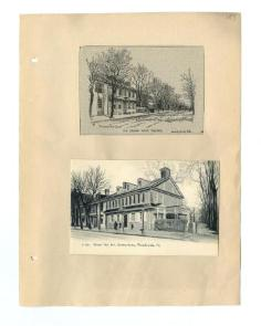 A photograph of the Green Tree Tavern on Germantown and High Street from 1921