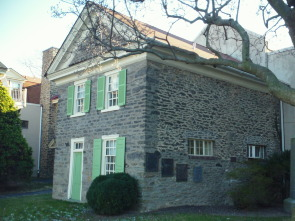 The exterior of one of the schoolhouse buildings at Pennsylvania School for the Deaf.