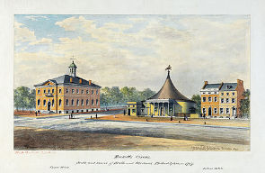 The Oellers Hotel and Ricketts Circus together